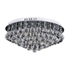 "Picture of 24"" 12 Light  Flush Mount with Chrome finish"