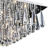 """Picture of 24"""" 12 Light  Flush Mount with Chrome finish"""