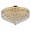 "Picture of 24"" 12 Light  Flush Mount with Gold finish"