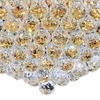 """Picture of 24"""" 12 Light  Flush Mount with Gold finish"""