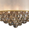 """Picture of 24"""" 12 Light Drum Shade Chandelier with Chrome finish"""