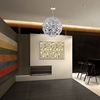 "Picture of 24"" 14 Light Down Chandelier with Chrome finish"