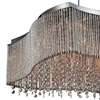 "Picture of 24"" 16 Light Drum Shade Chandelier with Chrome finish"