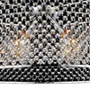 """Picture of 24"""" 3 Light Down Chandelier with Chrome finish"""