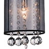 "Picture of 24"" 3 Light Multi Light Pendant with Chrome finish"