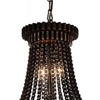 "Picture of 24"" 4 Light  Mini Chandelier with Antique Bronze finish"