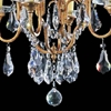 """Picture of 24"""" 4 Light Up Chandelier with Oxidized Bronze finish"""