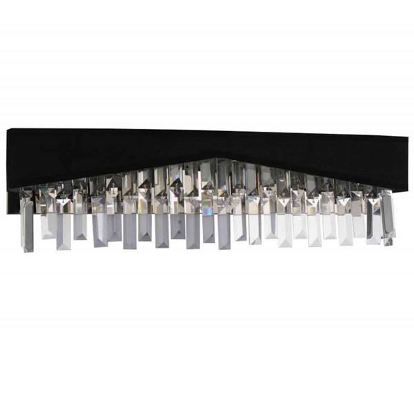 """Picture of 24"""" 4 Light Wall Sconce with Chrome finish"""