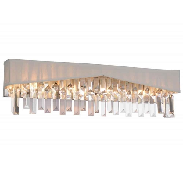 "Picture of 24"" 4 Light Wall Sconce with Chrome finish"