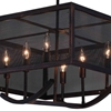 "Picture of 24"" 6 Light Chandelier with Antique Copper Finish"
