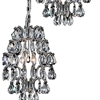 """Picture of 24"""" 6 Light Multi Point Pendant with Chrome finish"""