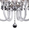 "Picture of 24"" 6 Light Up Chandelier with Chrome finish"