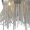 "Picture of 24"" 8 Light Down Chandelier with Chrome finish"