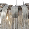 """Picture of 24"""" 8 Light Down Chandelier with Chrome finish"""