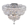 """Picture of 24"""" 9 Light Bowl Flush Mount with Chrome finish"""