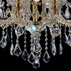 "Picture of 24"" 9 Light Up Chandelier with Chrome finish"