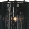 """Picture of 24"""" Gocce Modern Crystal String Shade Vanity Light Linear Wall Sconce 4 Lights"""