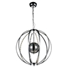 """Picture of 24"""" LED  Chandelier with Chrome finish"""