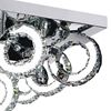 "Picture of 24"" LED  Flush Mount with Chrome finish"