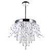 "Picture of 24"" LED Down Chandelier with Chrome finish"