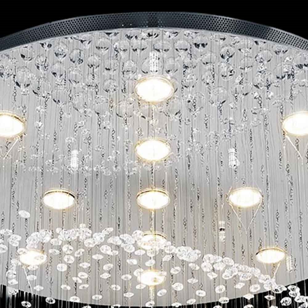 Brizzo Lighting Stores 24 Quot Sphere Modern Round Crystal