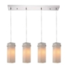 """Picture of 25"""" 4 Light Multi Light Pendant with Chrome finish"""