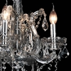 "Picture of 25"" 4 Light Up Chandelier with Chrome finish"
