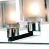 """Picture of 25"""" 4 Light Wall Sconce with Satin Nickel finish"""