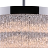 """Picture of 25"""" 9 Light Down Chandelier with Chrome finish"""
