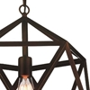 "Picture of 26"" 1 Light Down Pendant with Antique Copper finish"