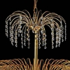 """Picture of 26"""" 11 Light Down Chandelier with Gold finish"""