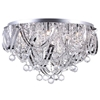 """Picture of 26"""" 12 Light  Flush Mount with Chrome finish"""