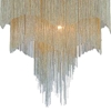"Picture of 26"" 4 Light Drum Shade Chandelier with Chrome finish"