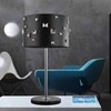 "Picture of 26"" 4 Light Table Lamp with Black finish"