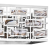 """Picture of 26"""" 4 Light Vanity Light with Chrome finish"""