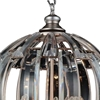 "Picture of 26"" 5 Light  Chandelier with Antique Forged Silver finish"