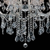 """Picture of 26"""" 5 Light Up Chandelier with Chrome finish"""