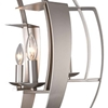 """Picture of 26"""" 6 Light  Chandelier with Pewter finish"""