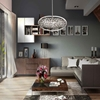 """Picture of 26"""" 6 Light  Chandelier with Satin Nickel finish"""