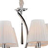 """Picture of 26"""" 6 Light Up Chandelier with Chrome finish"""