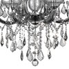 "Picture of 26"" 6 Light Up Chandelier with Chrome finish"