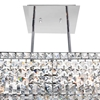 """Picture of 26"""" 8 Light Down Chandelier with Chrome finish"""