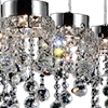 "Picture of 26"" 8 Light Multi Light Pendant with Chrome finish"