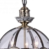 "Picture of 27"" 3 Light Chandelier with Antique Brass Finish"