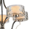 """Picture of 27"""" 5 Light Drum Shade Chandelier with Chrome finish"""