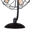 "Picture of 27"" 5 Light Table Lamp with Black finish"