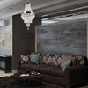 """Picture of 27"""" 6 Light  Chandelier with Chrome finish"""
