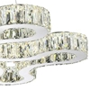 """Picture of 27"""" LED  Chandelier with Chrome finish"""