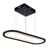 """Picture of 27"""" LED Island Chandelier with Black finish"""