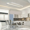 """Picture of 27"""" LED Island Chandelier with White finish"""